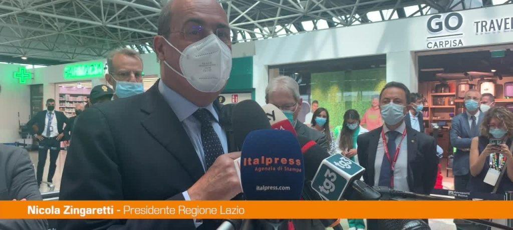 Vaccino, Zingaretti: