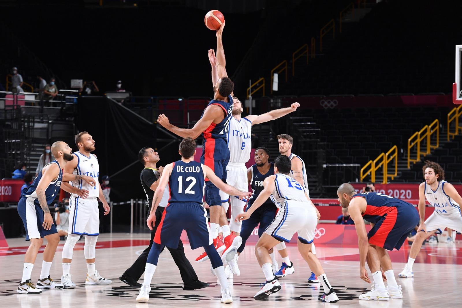 Basket, Italia eliminata ai quarti dalla Francia