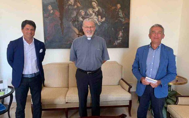 Rappresentanza dell'Ordine degli Ingegneri ha incontrato l'arcivescovo Damiano