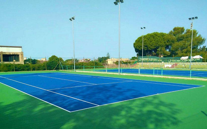 Nuovi campi da tennis, furto 48 ore prima dell'apertura