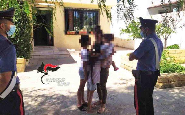 Grazie ai carabinieri, la mamma riabbraccia le tre figlie che l'ex marito aveva sottratto per portarle in Tunisia