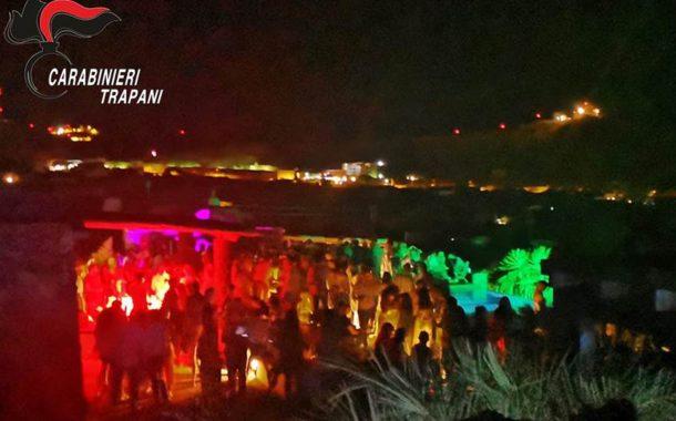 Pantelleria: festa abusiva, oltre 300 i presenti. Denunciato dai carabinieri l'organizzatore