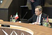 """Draghi """"Cambiamenti climatici emergenza uguale a pandemia Covid"""""""