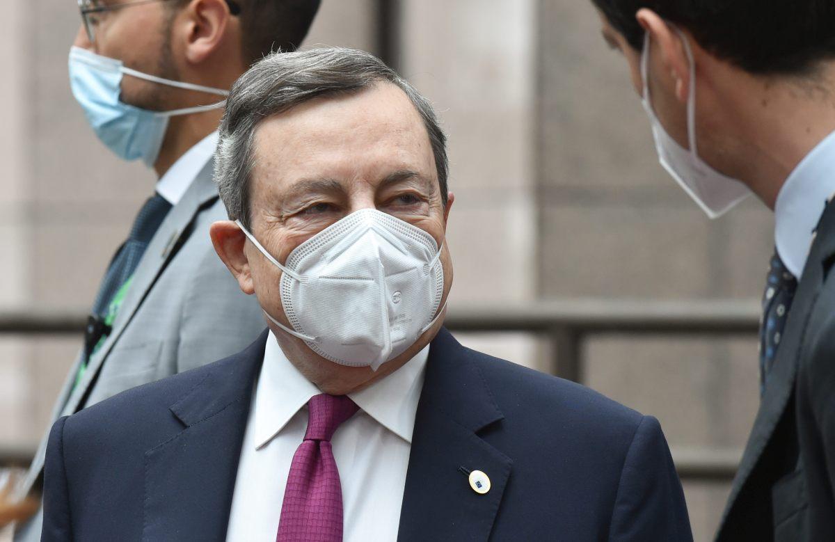 """Recovery, Draghi """"Reprimere le infiltrazioni criminali"""""""