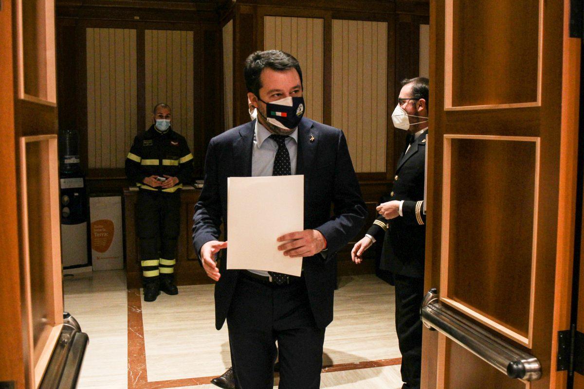 """Salvini """"La Lega è unita e ottiene risultati"""""""