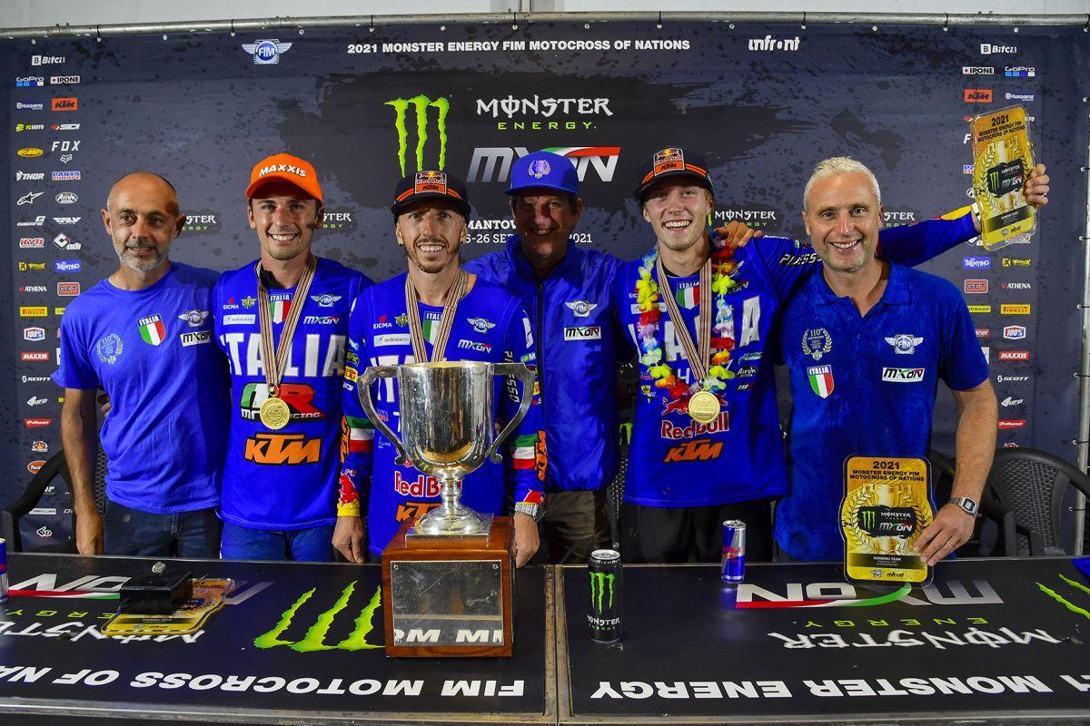 """L'Italia vince Motocross delle Nazioni, Copioli """"Risultato storico"""""""