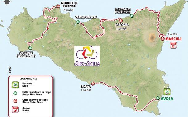 Ciclismo, torna il Giro di Sicilia: le tappe e le squadre