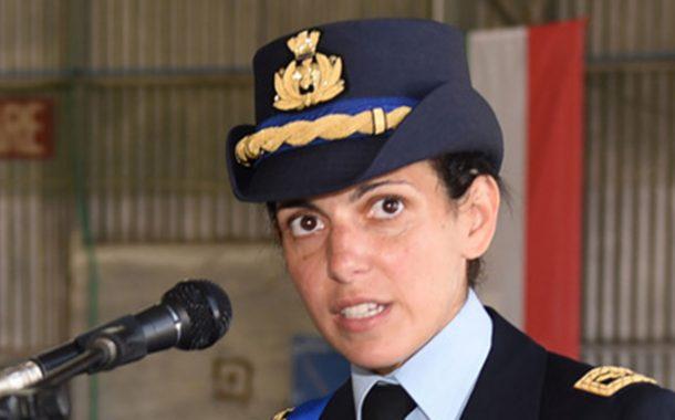 Donna al comando del 18° Gruppo Caccia Aeronautica Trapani