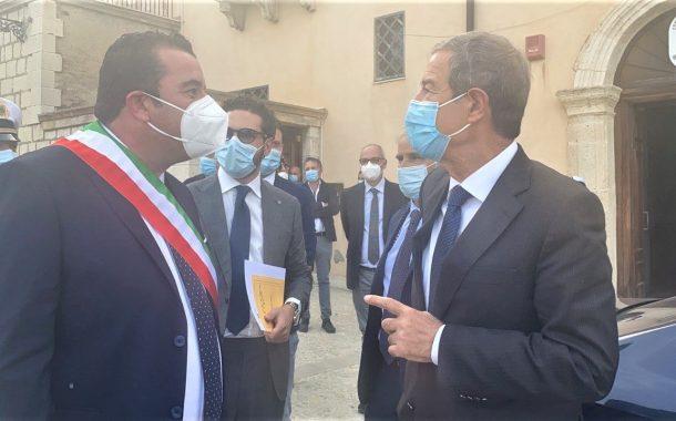 Il presidente della Regione Siciliana a Camnmarata