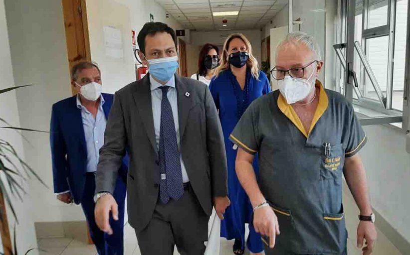 Covid, Razza all'ospedale di Ribera: «Abbiamo salvato e rilanciato struttura»