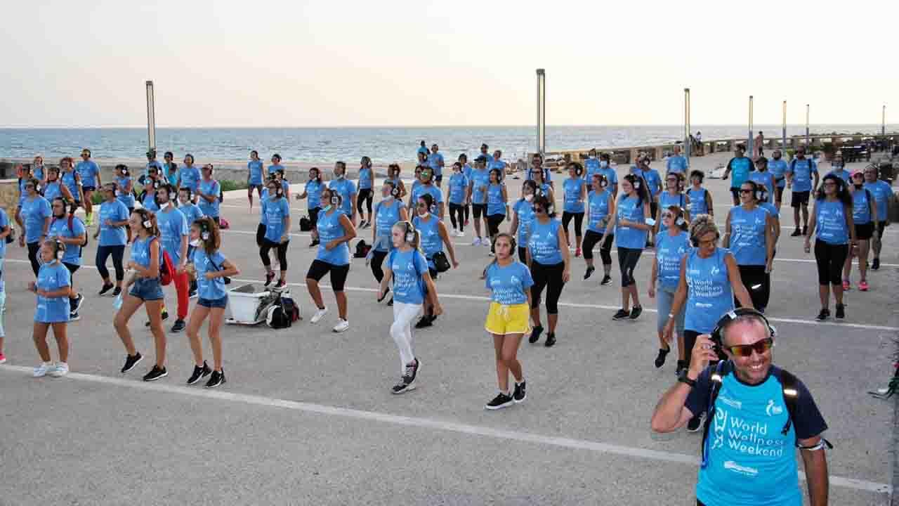 Si è concluso il World Wellness Weekend. Gran successo e partecipazione da tutta la Sicilia <font color=