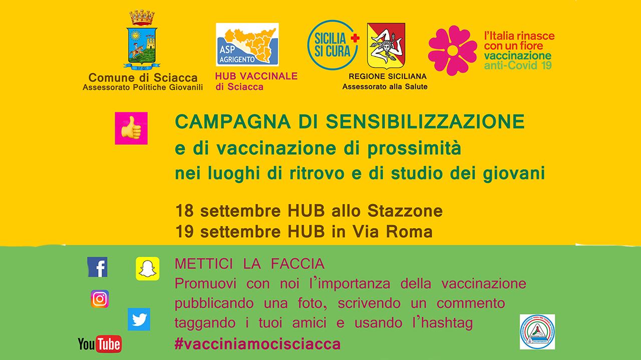 Weekend di sensibilizzazione e vaccinazione: sabato allo Stazzone e domenica in via Roma
