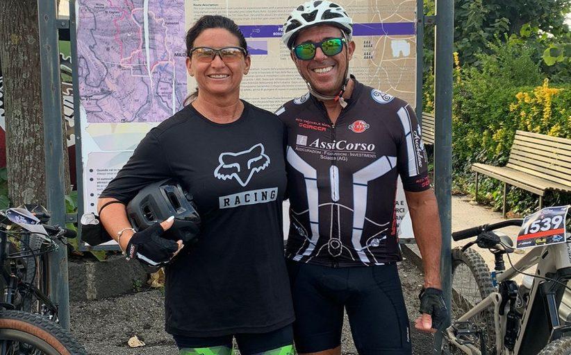 La Triskele Bike alla Etna Marathon: seconda Caterina Fazio, sesto Tonino Bonifacio