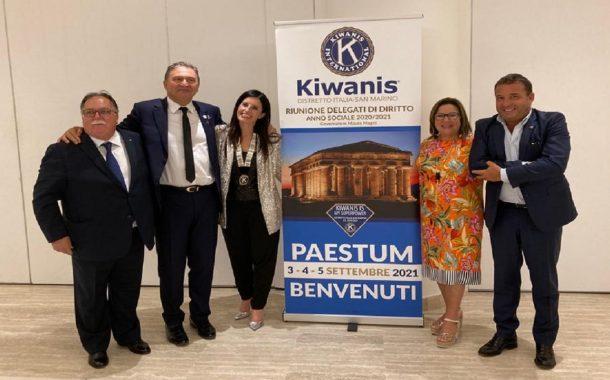 Kiwanis, il menfitano Giuseppe Mauceri nuovo Luogotenente Governatore Divisione 4 Distretto Italia-San Marino