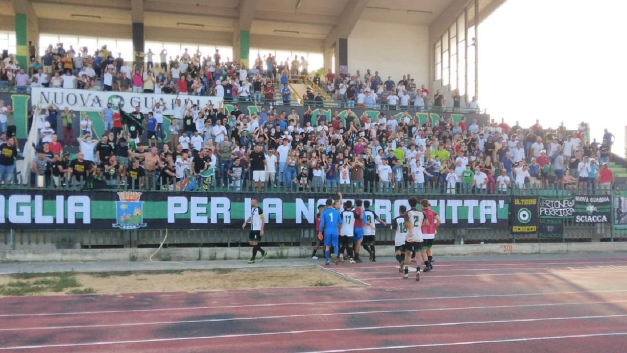 Calcio, Unitas Sciacca vivace e sempre coraggioso: 2 a 2 al Gurrera contro l'Enna