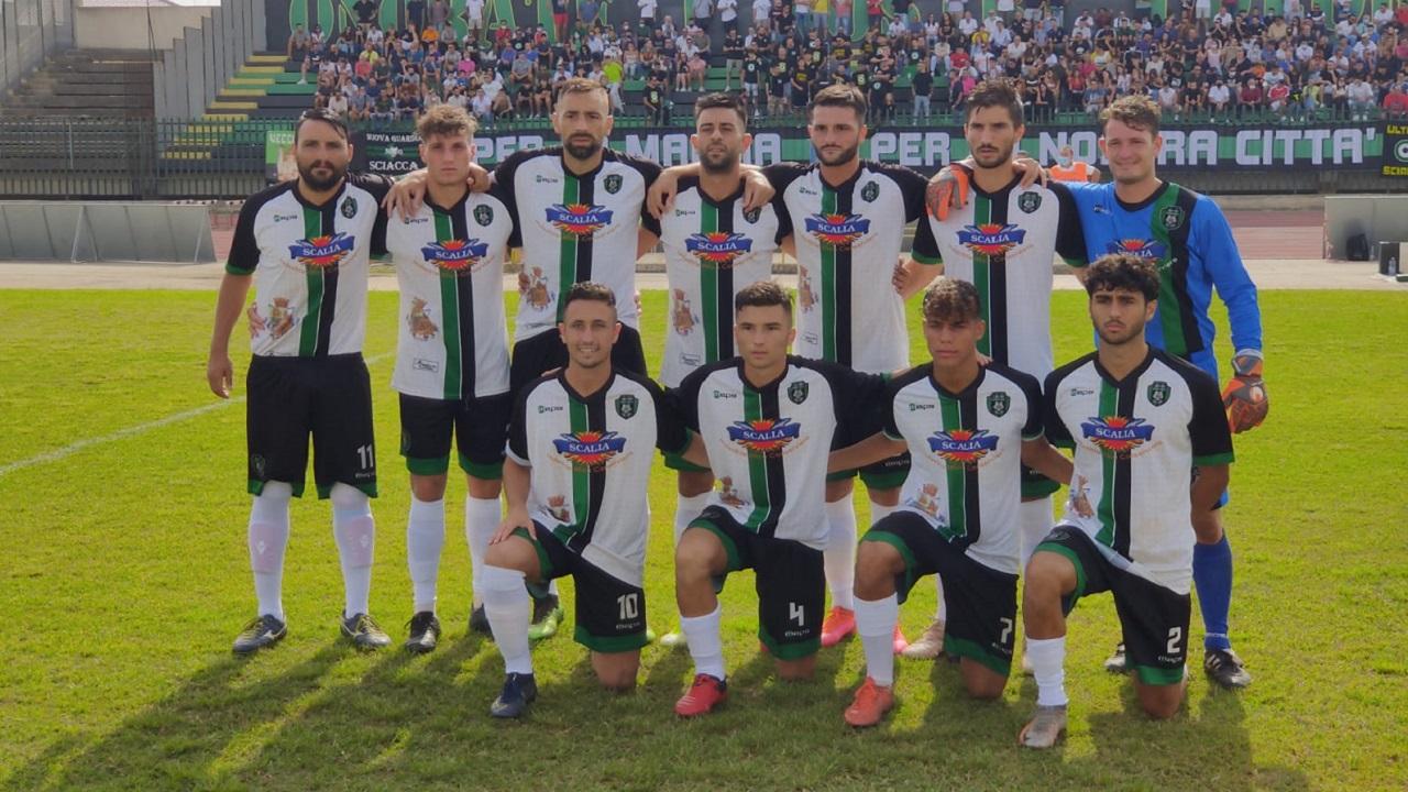 Calcio, Sciacca spumeggiante e 4 a 2 al Pro Favara con gol di Galluzzo, Salvucci, De Giovanni e Ciancimino